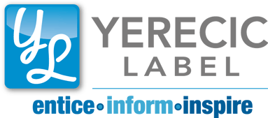 The Yerecic Label logo - celebrating 50 years